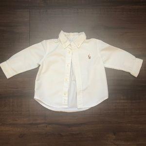 Ralph Lauren Infant Button down shirt
